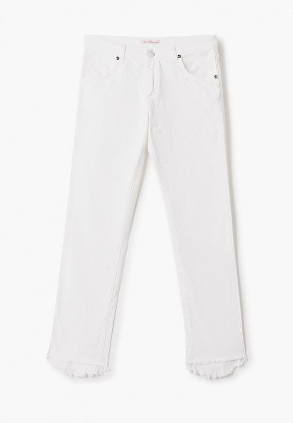 джинсы miss blumarine для девочки, белые