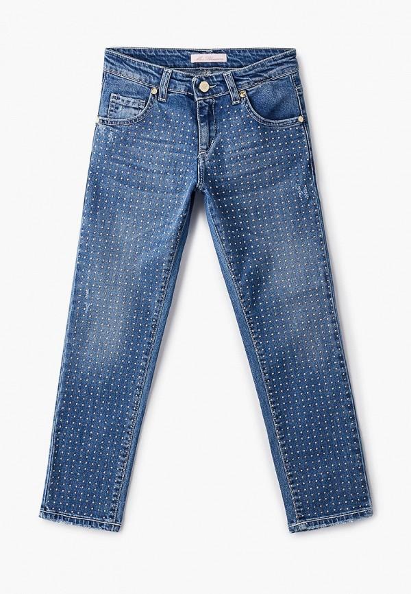 джинсы miss blumarine для девочки, синие