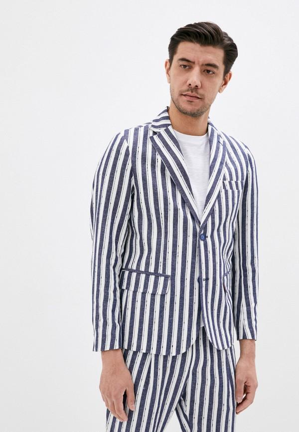 мужской пиджак miguel bharross, синий