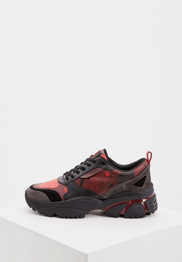 мужские кроссовки michael kors, бордовые