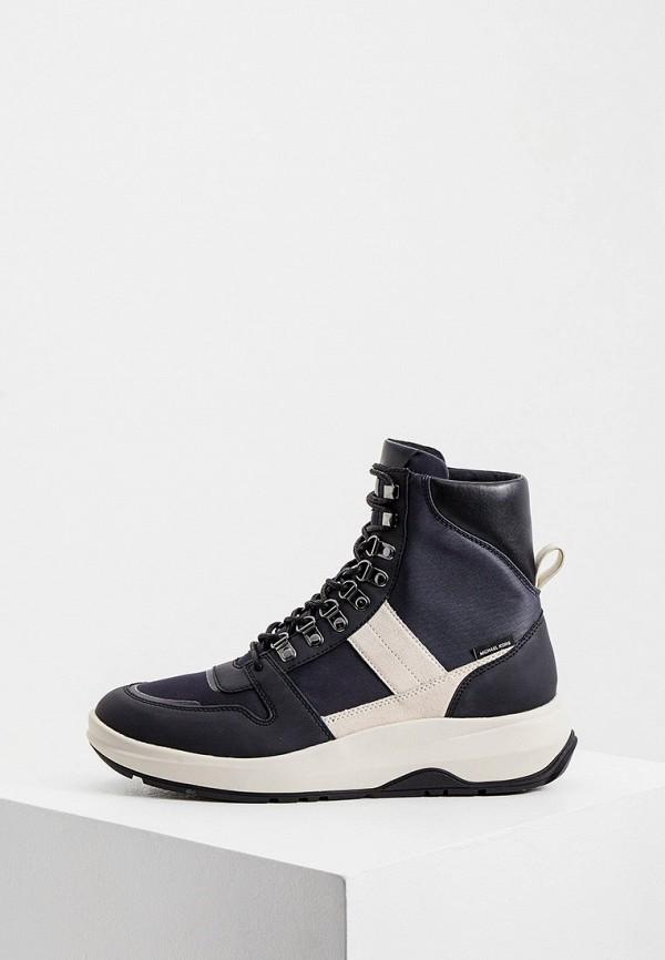мужские высокие ботинки michael kors, синие