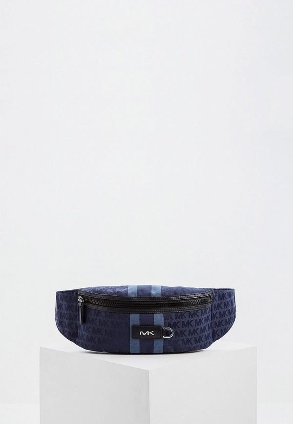 мужская сумка michael kors, синяя