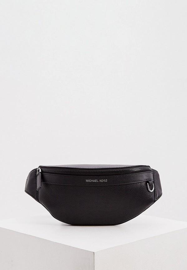 мужская сумка michael kors, черная