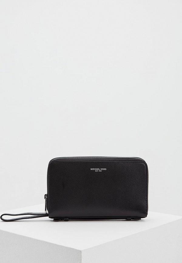 мужской кошелёк michael kors, черный