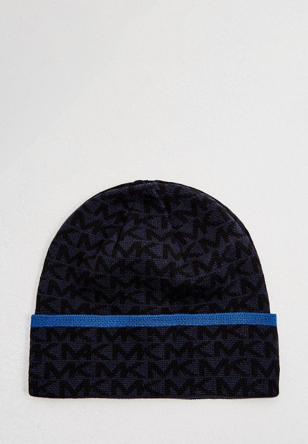 мужская шапка michael kors, синяя