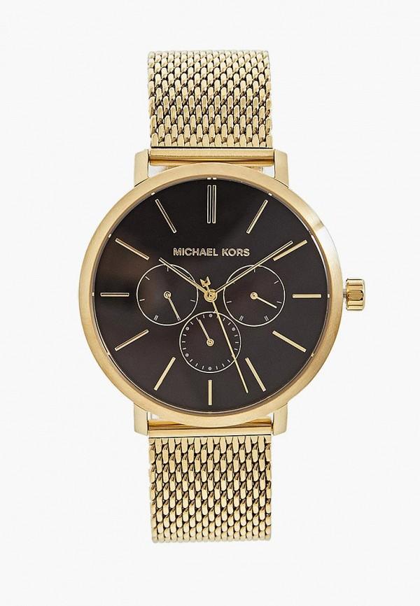 мужские часы michael kors, золотые