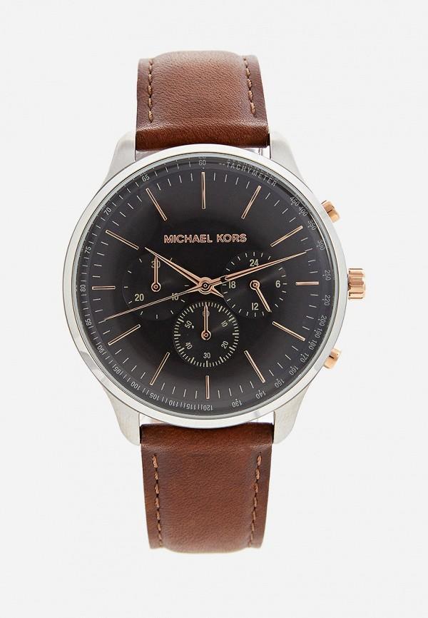 мужские часы michael kors, коричневые