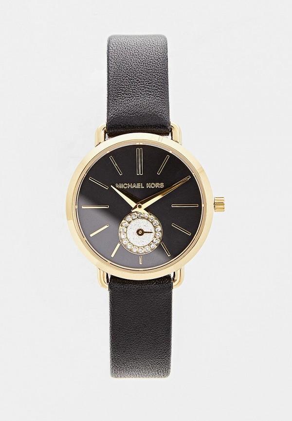 женские часы michael kors, черные