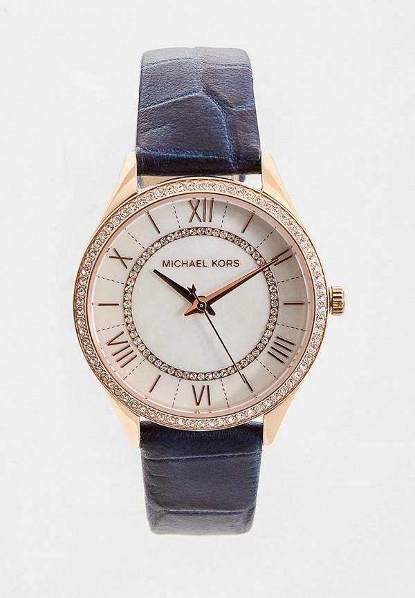 женские часы michael kors, синие