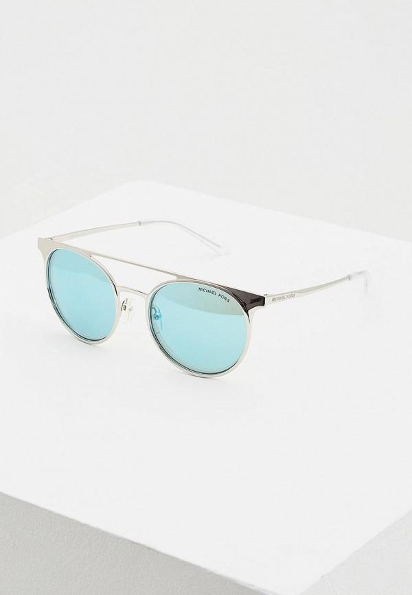 женские солнцезащитные очки michael kors, голубые