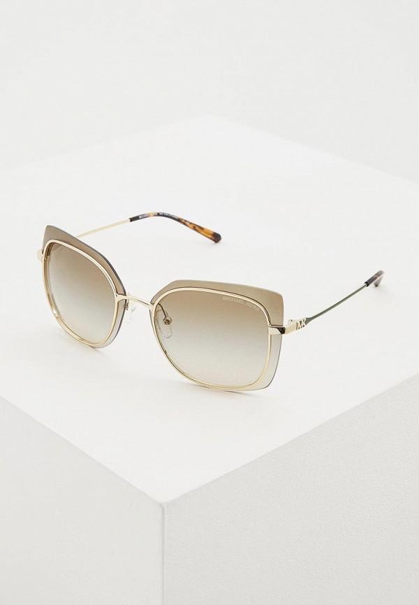 женские солнцезащитные очки michael kors, зеленые