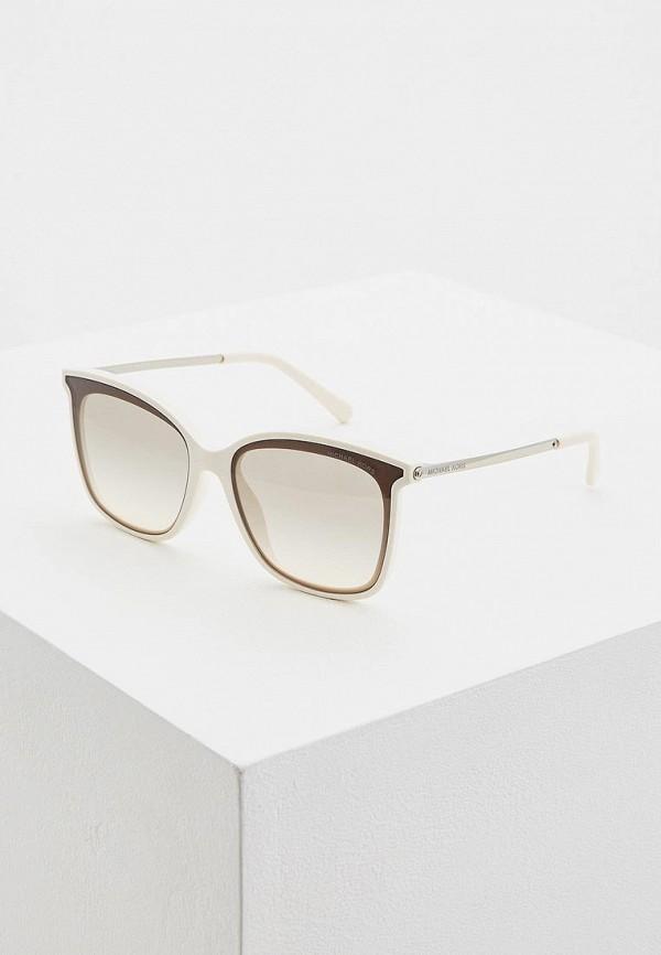 женские солнцезащитные очки michael kors, белые