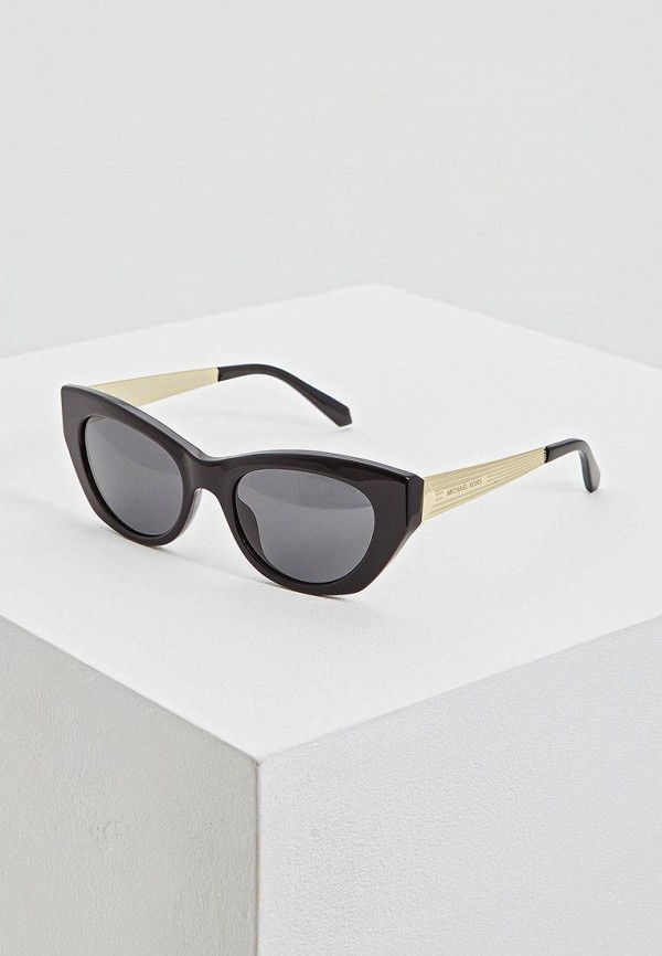 женские солнцезащитные очки кошачьи глаза michael kors, серые