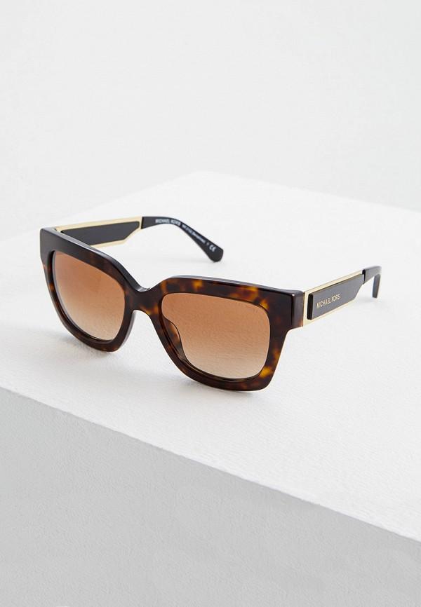 женские солнцезащитные очки michael kors, красные