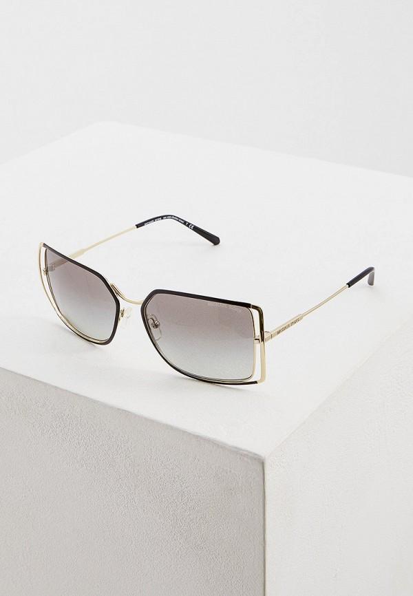 Фото - Очки солнцезащитные Michael Kors золотого цвета
