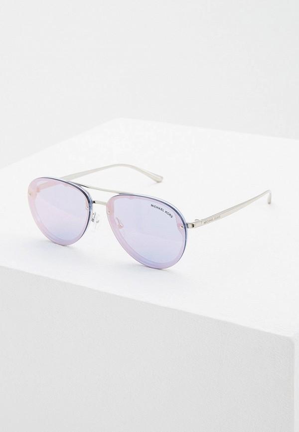 женские авиаторы солнцезащитные очки michael kors, разноцветные