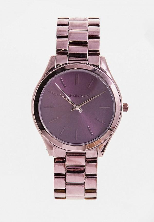 женские часы michael kors, фиолетовые