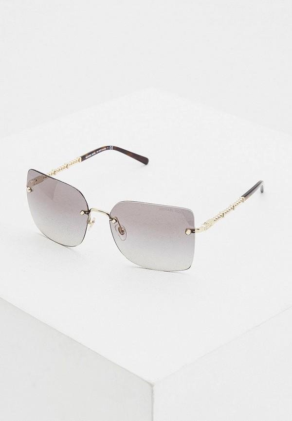 женские квадратные солнцезащитные очки michael kors, серые