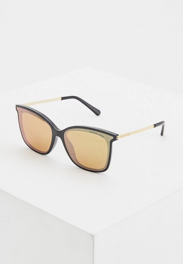 женские солнцезащитные очки кошачьи глаза michael kors, белые