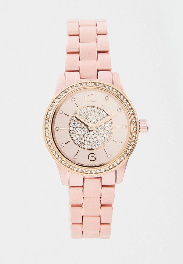 женские часы michael kors, розовые