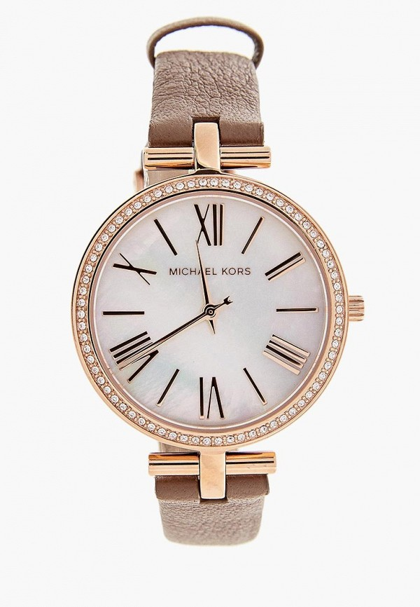 женские часы michael kors, коричневые
