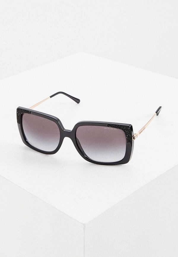 женские квадратные солнцезащитные очки michael kors, бордовые