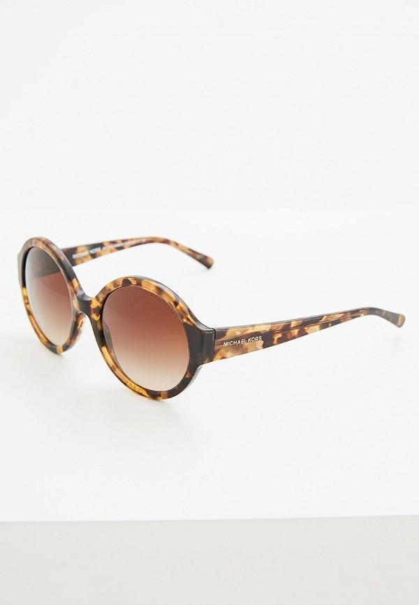 Очки солнцезащитные Michael Kors Michael Kors MI186DWOWV89 очки солнцезащитные michael kors michael kors mi186dwzaw16
