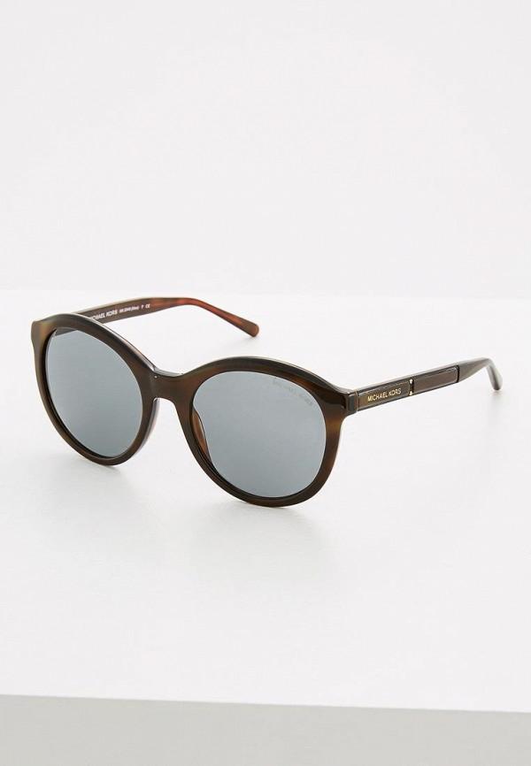 Очки солнцезащитные Michael Kors Michael Kors MI186DWQBT31 очки солнцезащитные michael kors michael kors mi186dwzaw16