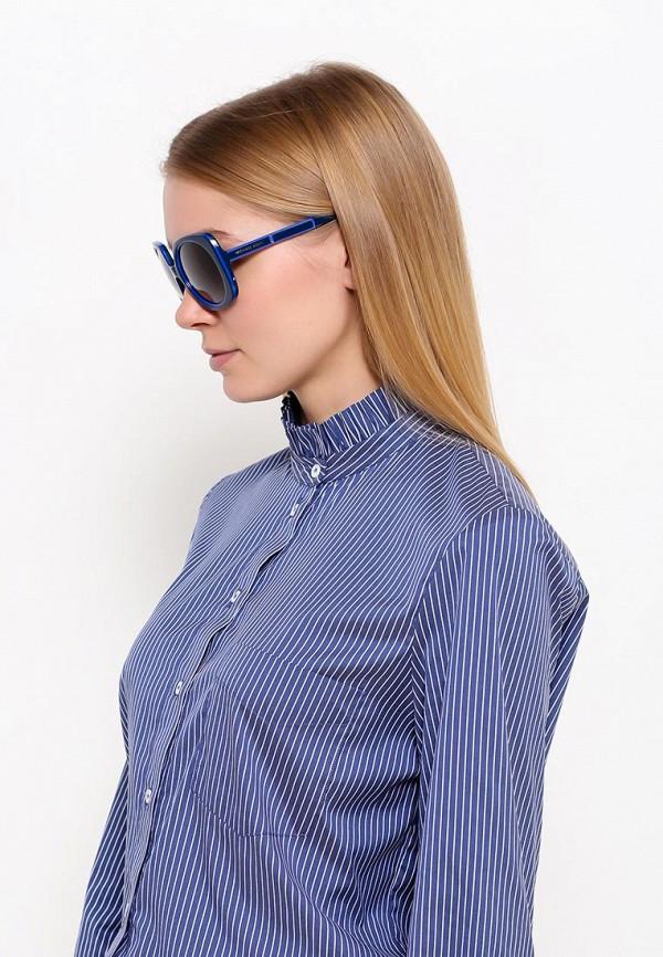 Фото 7 - Очки солнцезащитные Michael Kors синего цвета