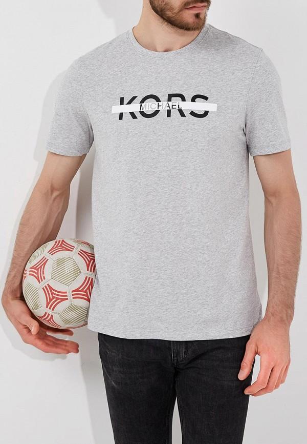 Футболка  серый цвета