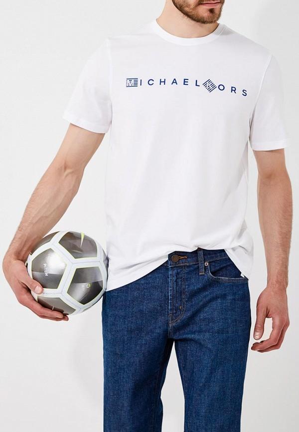 Футболка  белый цвета