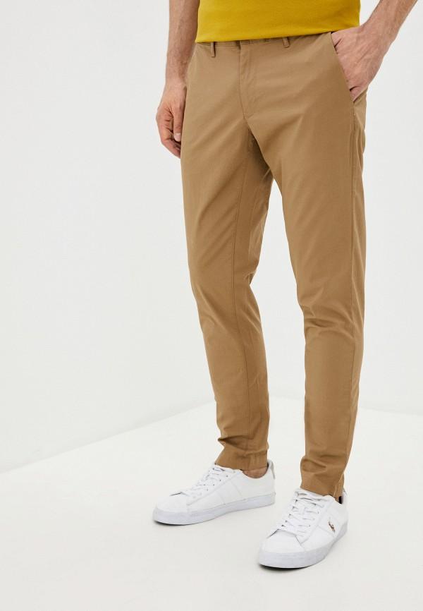 мужские повседневные брюки michael kors, коричневые
