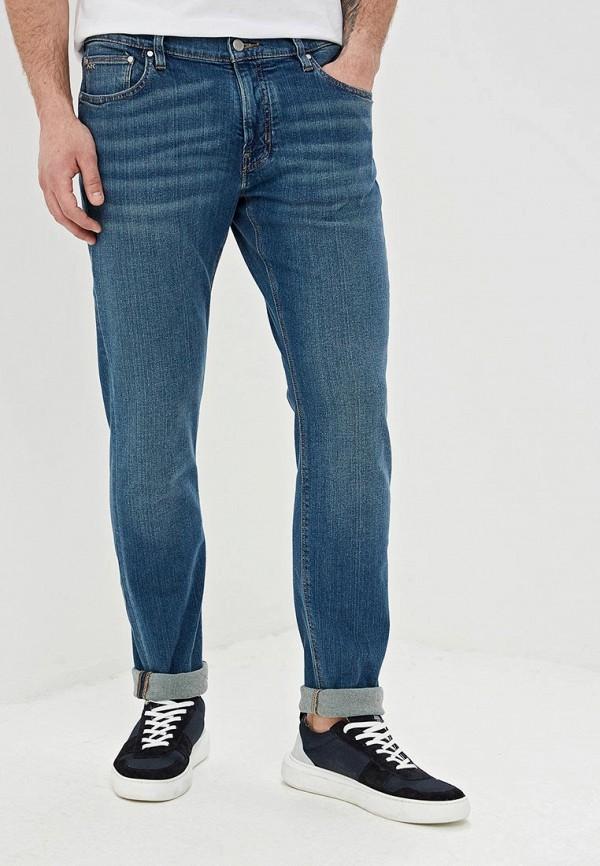 мужские зауженные джинсы michael kors, синие