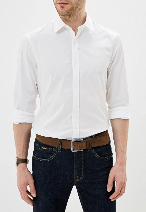 мужская рубашка с длинным рукавом michael kors, белая