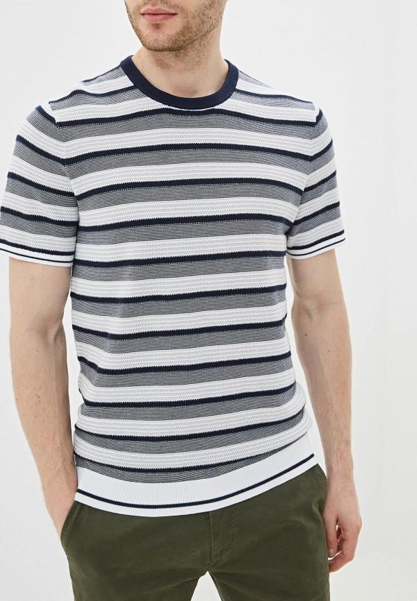 Фото - Мужскую футболку Michael Kors синего цвета