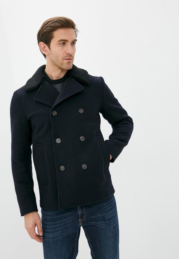 мужское пальто michael kors, синее