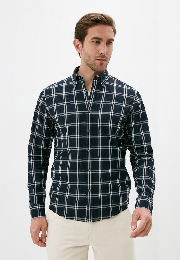 мужская рубашка с длинным рукавом michael kors, синяя