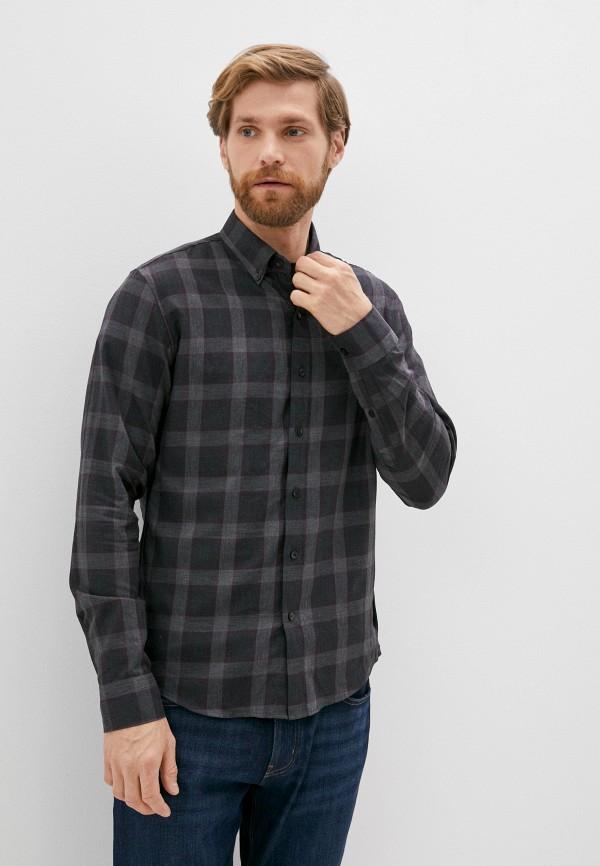 мужская рубашка с длинным рукавом michael kors, серая