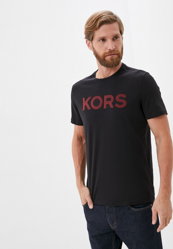 мужская футболка michael kors, черная