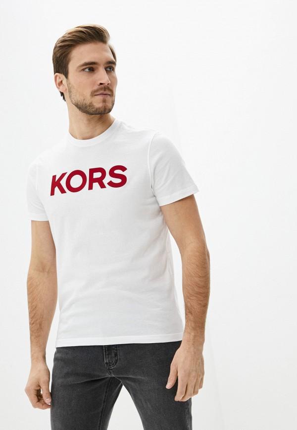 мужская футболка michael kors, белая
