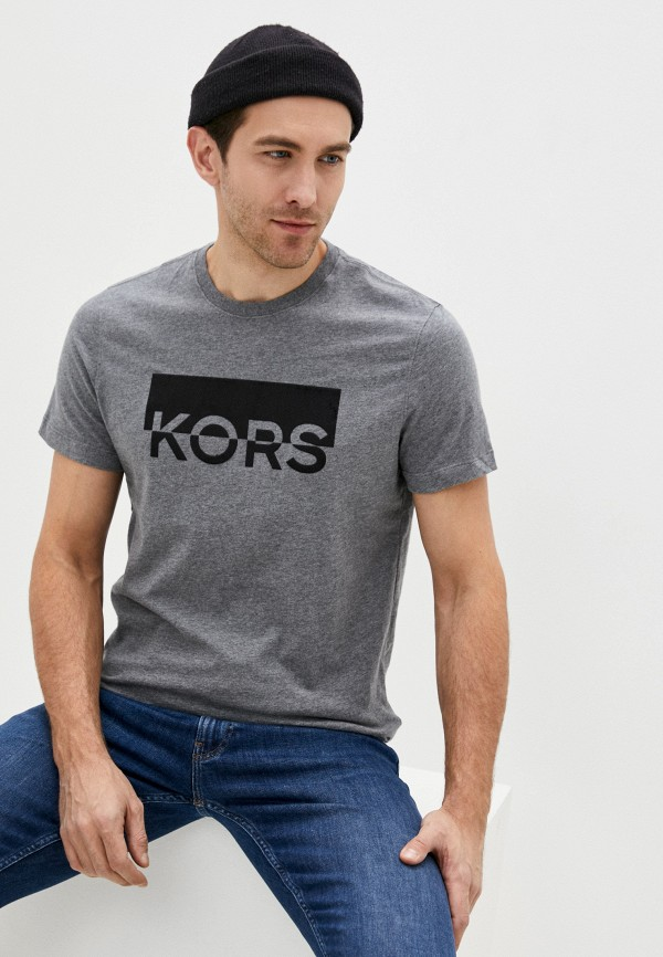 мужская футболка michael kors, серая
