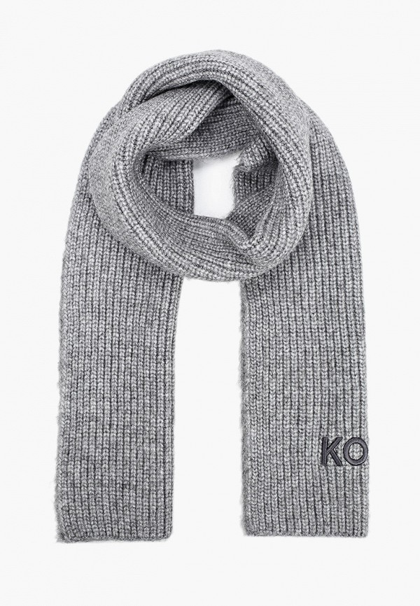 мужской шарф michael kors, серый