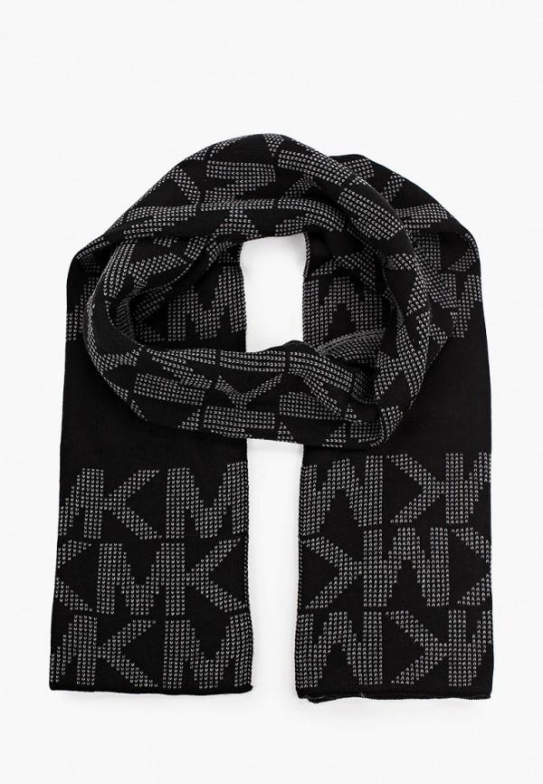 мужской шарф michael kors, черный