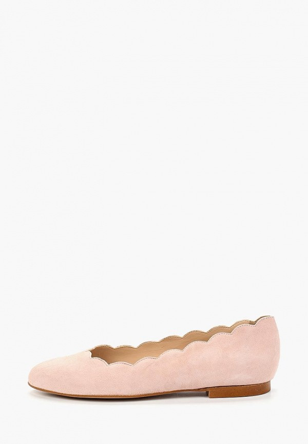 женские балетки mint&berry, розовые