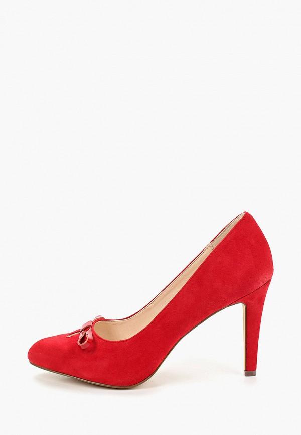 женские туфли mint&berry, красные