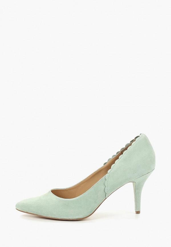 женские туфли mint&berry, бирюзовые