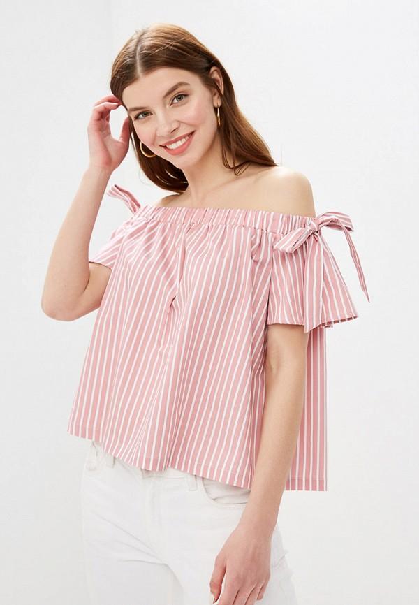 женский топ mint&berry, розовый