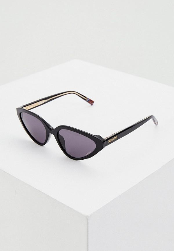 женские солнцезащитные очки missoni, черные