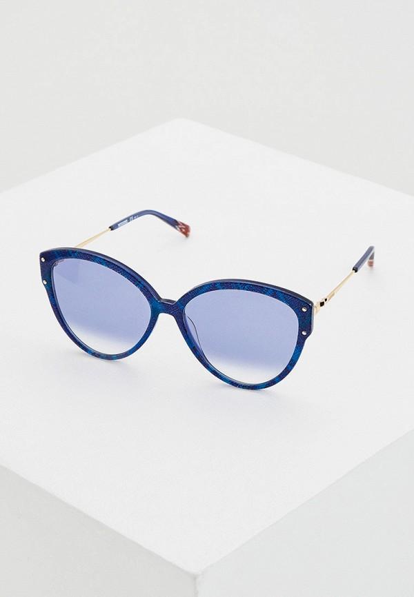 женские солнцезащитные очки missoni, синие