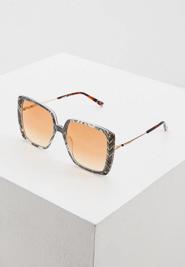 женские солнцезащитные очки missoni, серые
